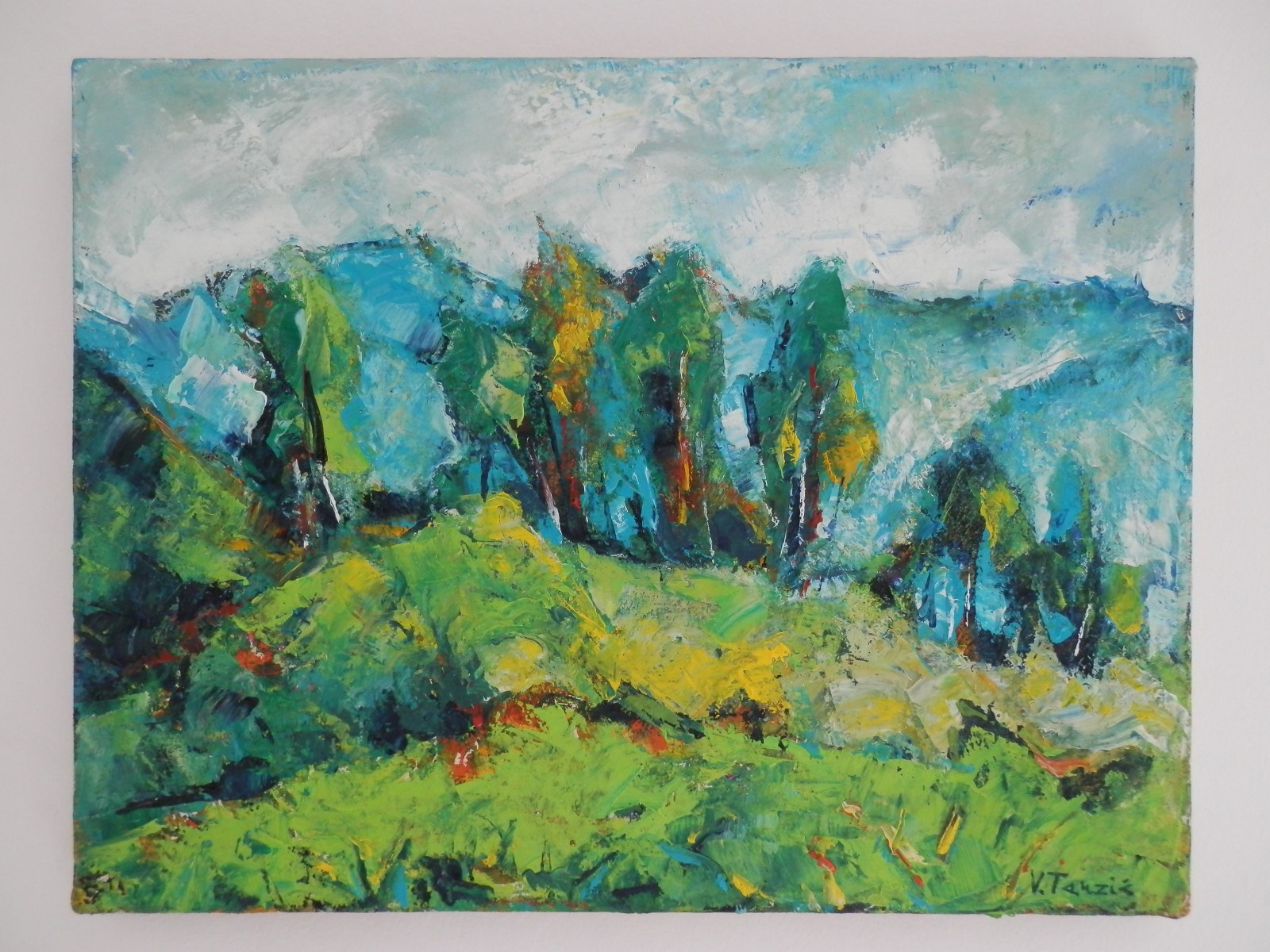 Br. 134 - Ulje na platnu - 31x40,5 <br> 	No. 134 - Oil paint - 31x40,5