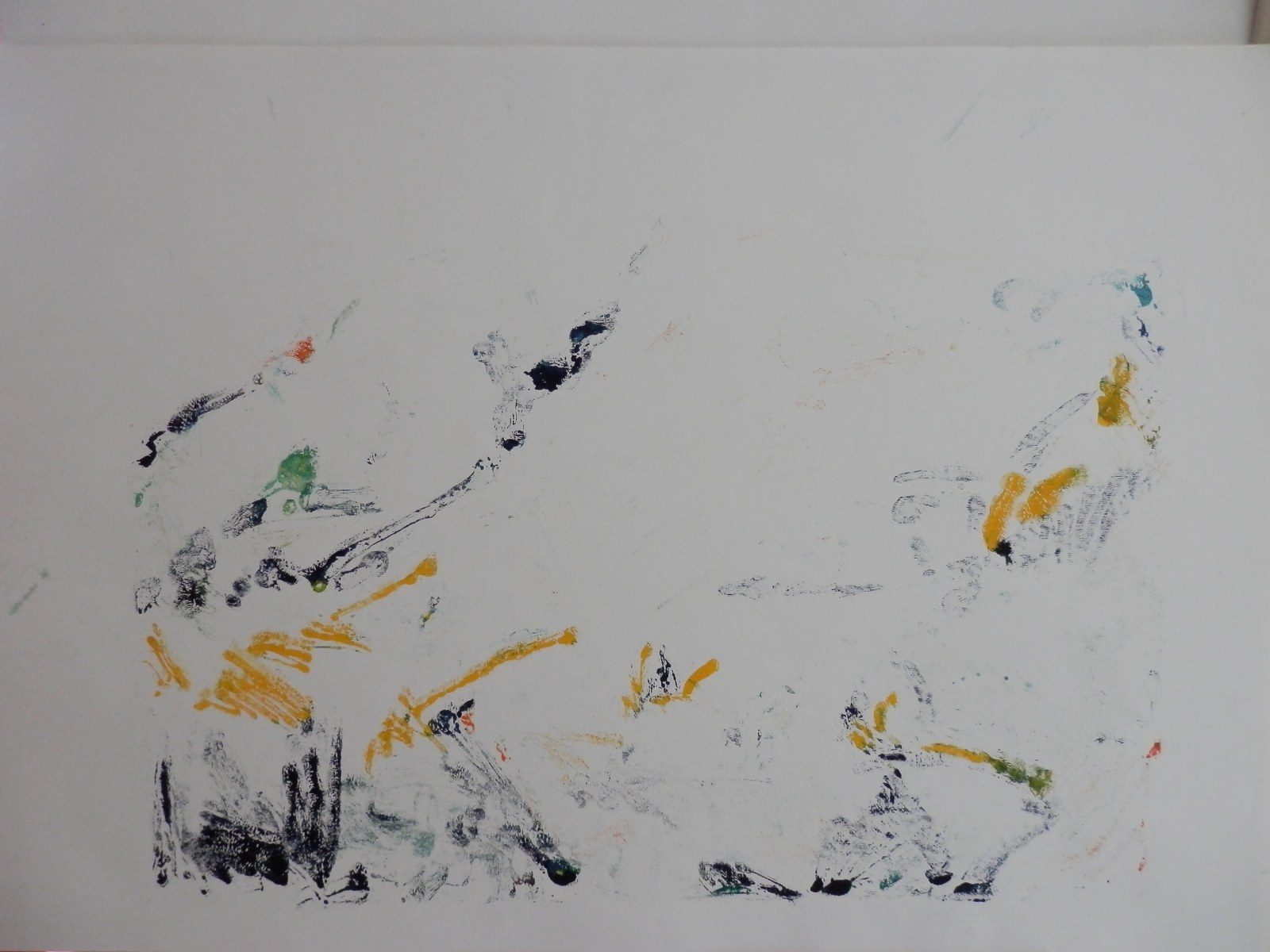 Br. 177 - Ulje na papiru - 70x100 <br> 	No. 177 - Oil on paper - 70x100