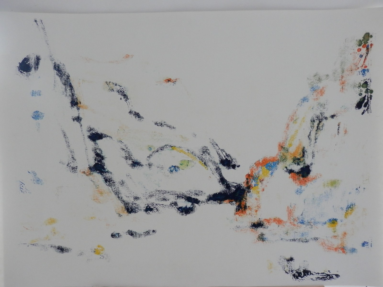 Br. 179 - Ulje na papiru - 70x100 <br> 	No. 179 - Oil on paper - 70x100
