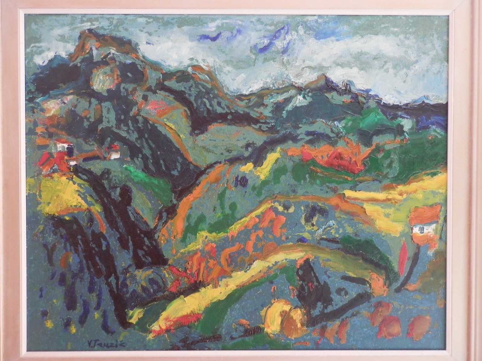 Br. 26 - Ulje na  pltnu - 60x75 <br> 	No. 26 - Oil paint - 60x75