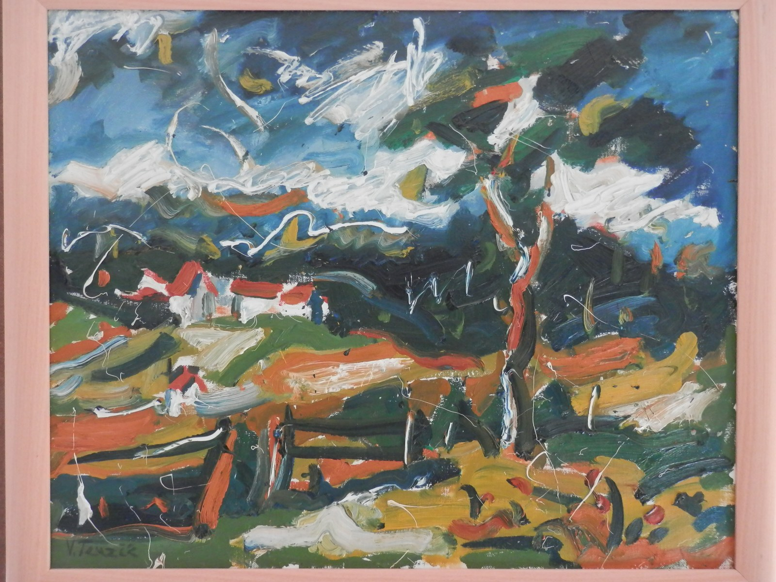 Br. 3 - Ulje na platnu - 55x68 <br> 	No. 3 - Oil paint - 55x68
