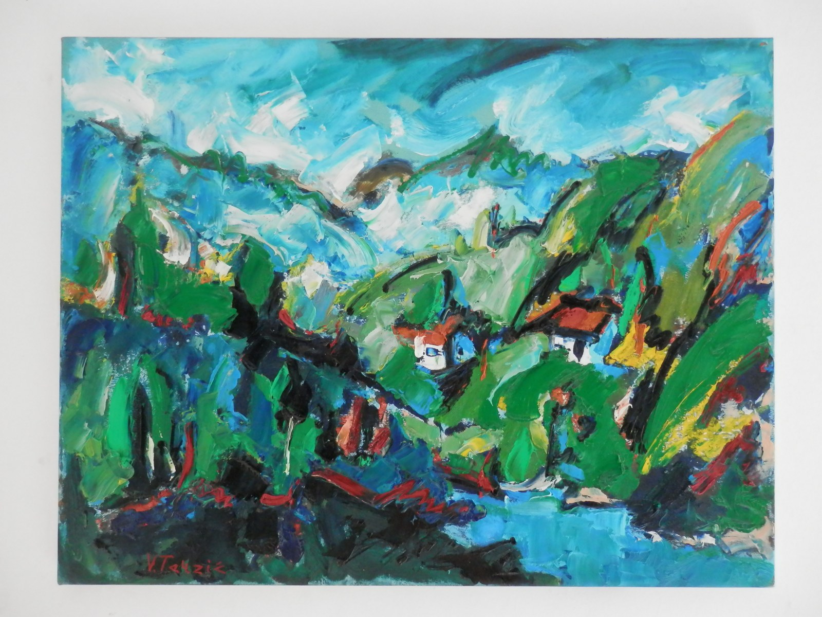 Br. 36 - Ulje na platnu - 50x65 <br> 	No. 36 - Oil paint - 50x65