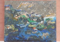 Br. 62 - Ulje na medijapanu - 60x75 <br> 	No. 62 - Oil on medijapan - 60x75